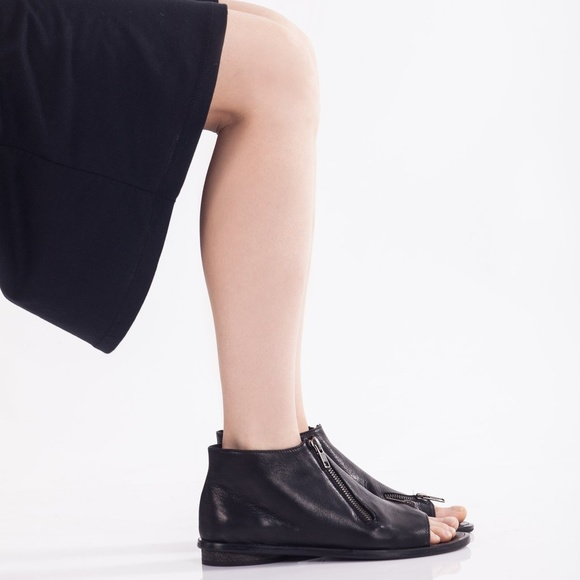 9cc2322d48 Peep toe boot-style sandals- WALK by Anat Dahari